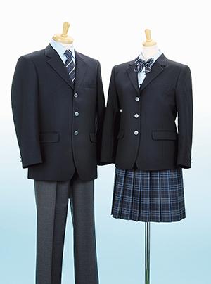 吉田島総合高等学校制服画像